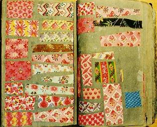 double pinks vintage fabrics
